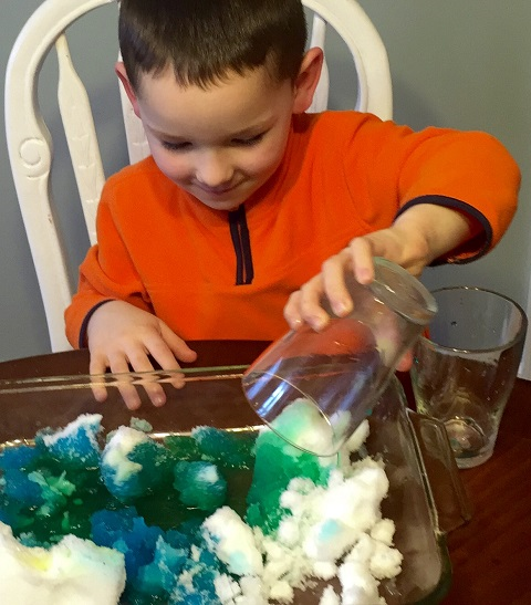 Snow day fun with litlscience