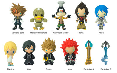 Kingdom Hearts Series 3 Blind Bags From Monogram
