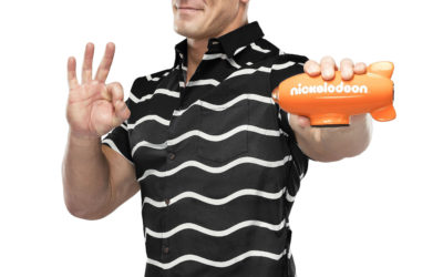 NICKELODEON AND WWE SUPERSTAR JOHN CENA PREP THREE PROJECTS FOR 2018